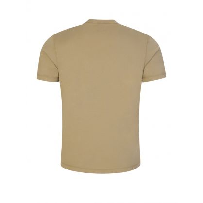 Brown Jersey Cotton T-Shirt