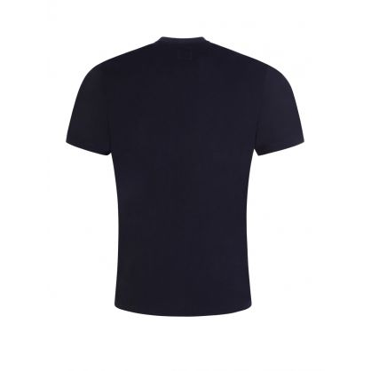 Navy Logo Graphic T-Shirt