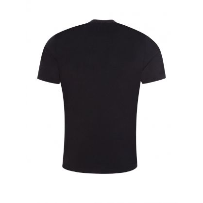 Black Jersey Cotton T-Shirt