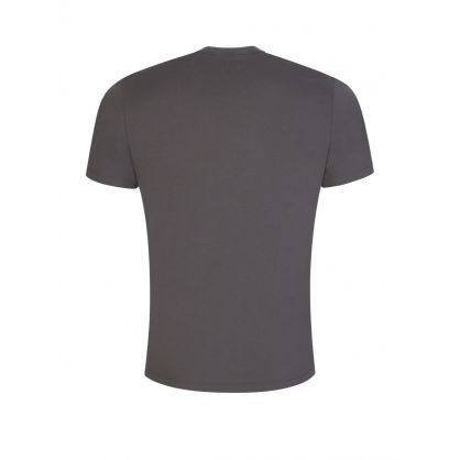 Grey Chest Logo Patch T-Shirt