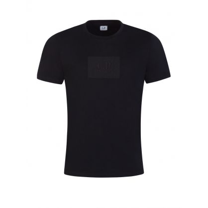 Black Chest Logo Patch T-Shirt