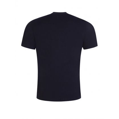Navy 30/1 Vintage Logo T-Shirt