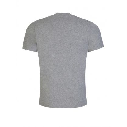 Grey 30/1 Vintage Logo T-Shirt
