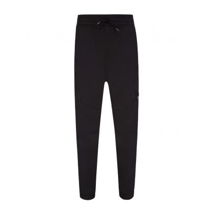 Black Chrome R Cargo Pants