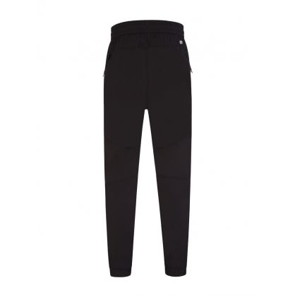 Black Chrome R Cargo Pants
