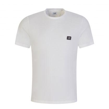 White Small Logo Badge T-Shirt