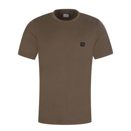 Grey Logo Badge T-Shirt