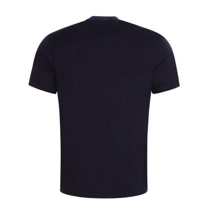 Navy Label Logo T-Shirt