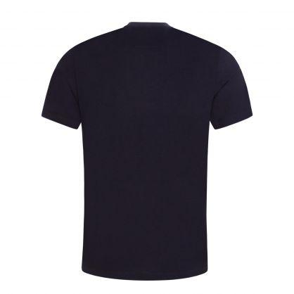 Dark Blue Vintage Logo T-Shirt