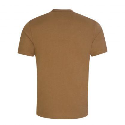 Brown Logo Badge T-Shirt