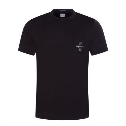 Black Pocket Logo T-Shirt