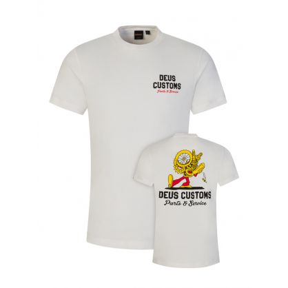 White Bush Mechanics T-Shirt