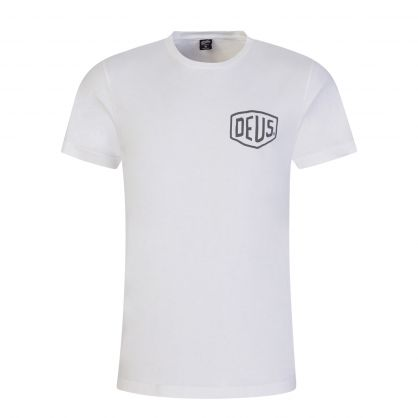 White Ibiza Address T-Shirt