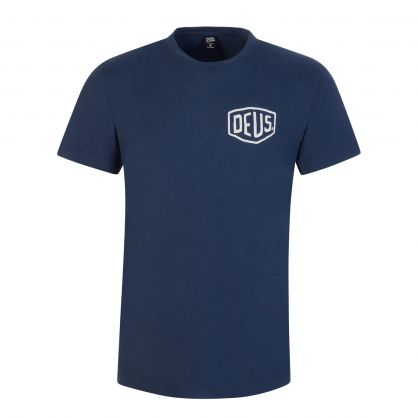 Navy Milano Address T-Shirt