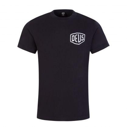 Black Amsterdam Address T-Shirt
