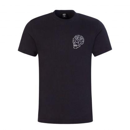 Black Venice Skull T-Shirt