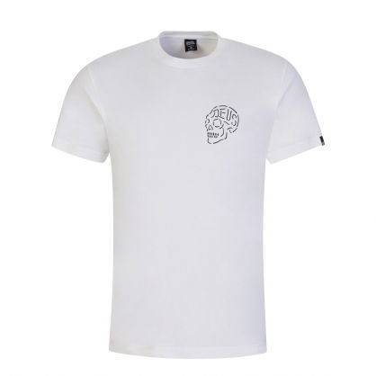 White Venice Skull T-Shirt