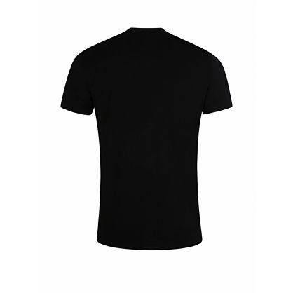 Black Heatwave Logo T-Shirt