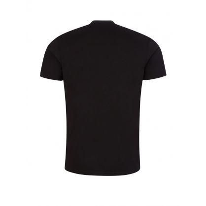 Black Red Tag Logo T-Shirt
