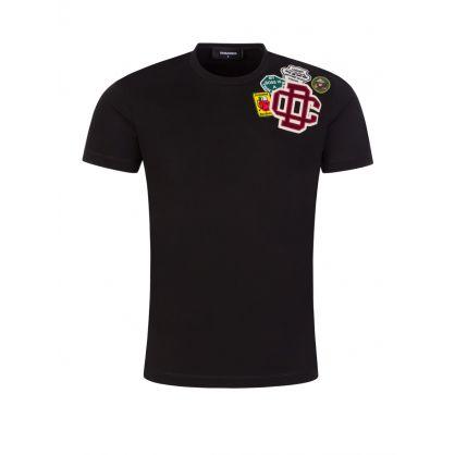 Black Icon Patch T-Shirt