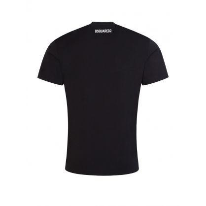 Black DSQ2 Maple Leaf T-Shirt