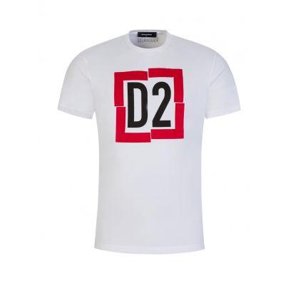 White D2 Logo T-Shirt