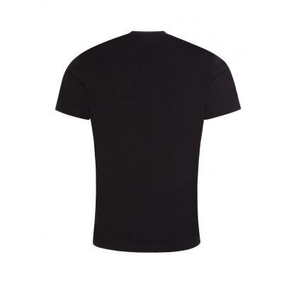 Black Multiple Logo T-Shirt