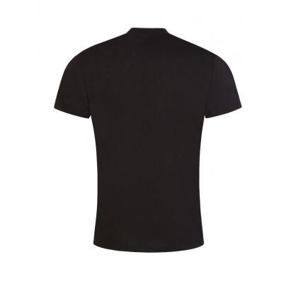 Black Shadow Logo Print T-Shirt