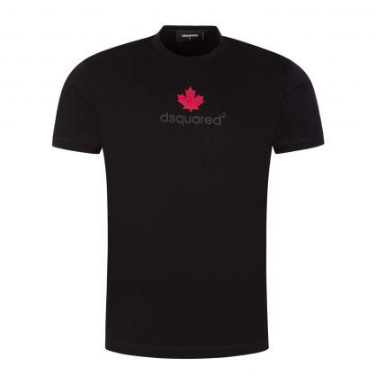 Black Leaf Chest Logo T-Shirt