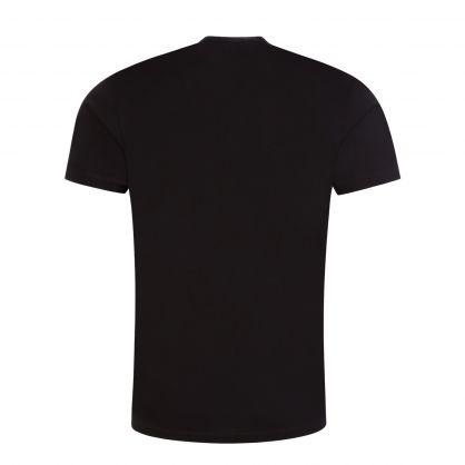 Black Cubic Logo T-Shirt