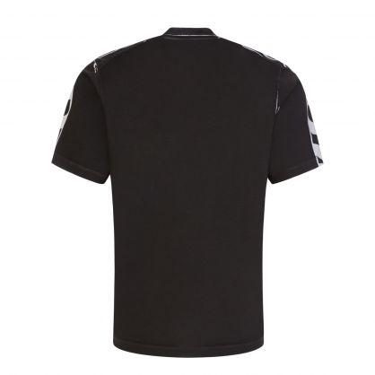 Black Oversized Logo T-Shirt