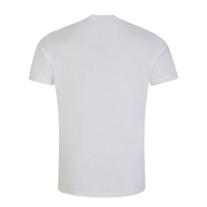 White Taped ICON Logo T-Shirt