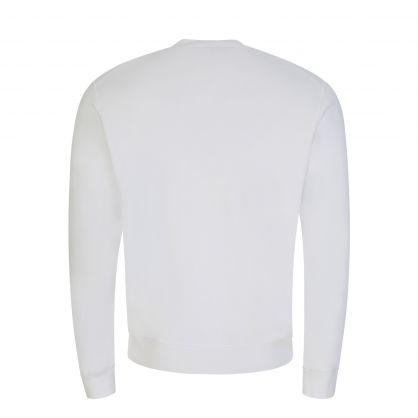 White Taped ICON Sweatshirt