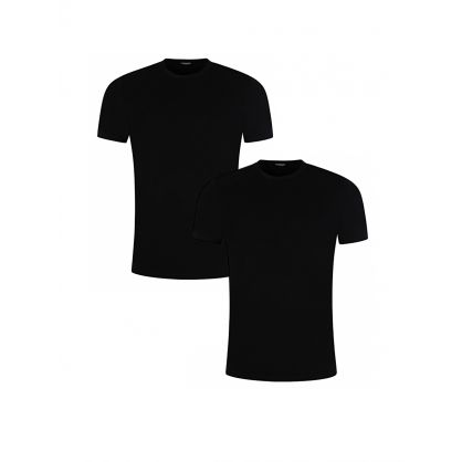 Black Crewneck T-Shirt 2-Pack