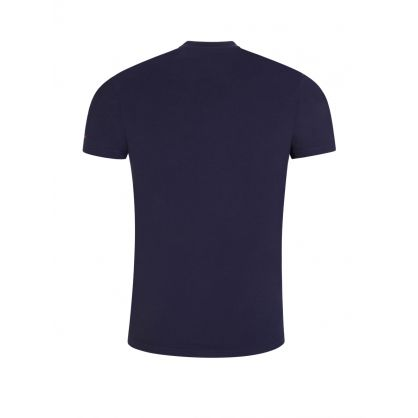 Navy Logo Arm T-Shirt