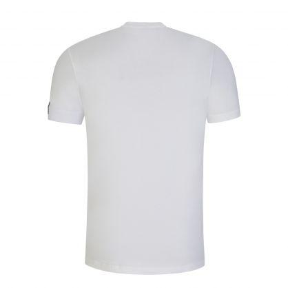 White Arm Patch T-Shirt