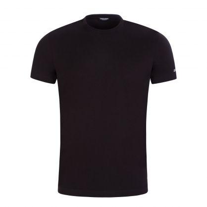 Black Logo Underwear T-Shirt