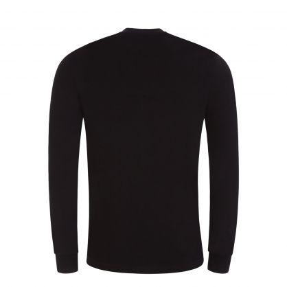 Black Underwear Lounge T-Shirt