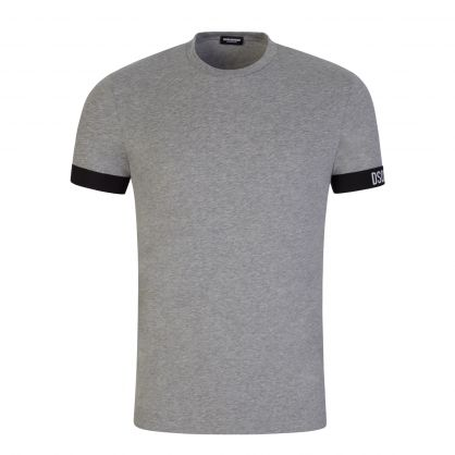 Grey Underwear Armband Lounge T-Shirt