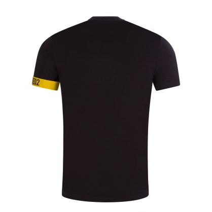 Black/Yellow Armband Underwear T-Shirt