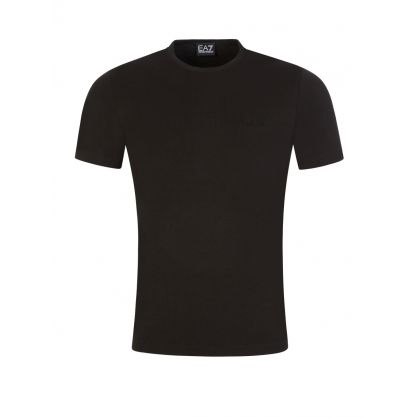 Black Back Logo Tape T-Shirt