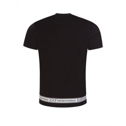 Black Hem Logo T-Shirt