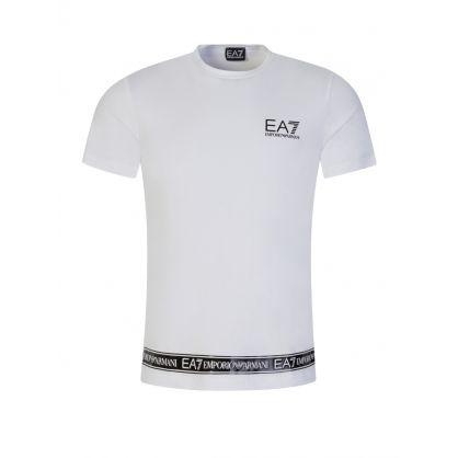 White Hem Logo T-Shirt