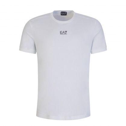 White Cotton Logo Series T-Shirt