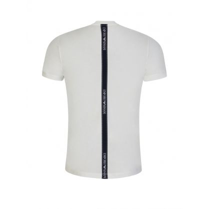White Logo Tape T-Shirt