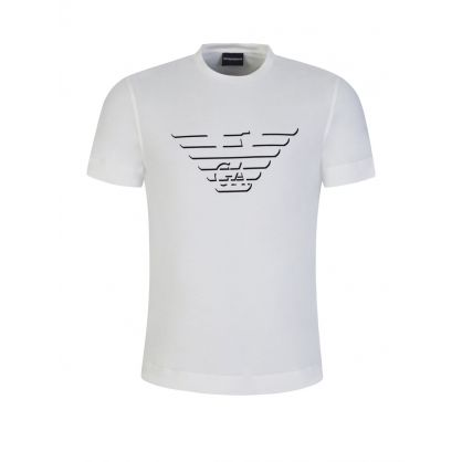 White Big Eagle Logo T-Shirt