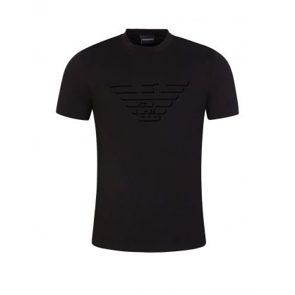Black Big Eagle Logo T-Shirt