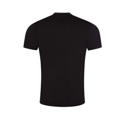 Black Large Studded Logo T-Shirt