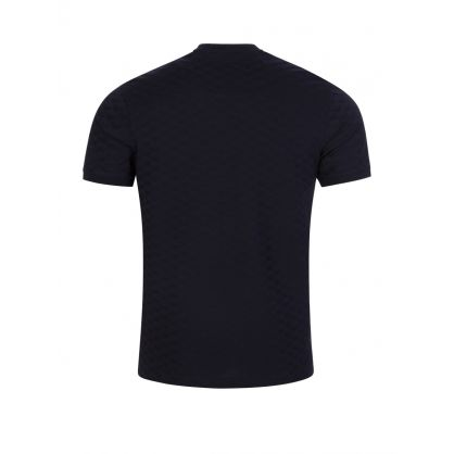 Navy Multi-Logo T-Shirt