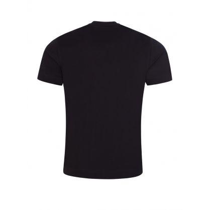 Navy Blue Repeat Logo T-Shirt